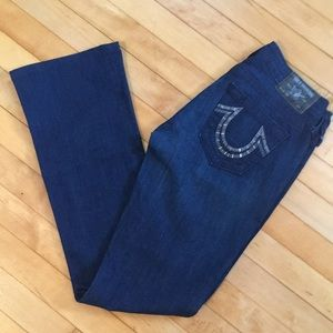 True Religion Tori dark wash boot cut jeans